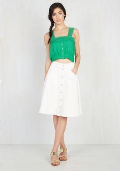 Pathway of Life Midi Skirt, #ModCloth