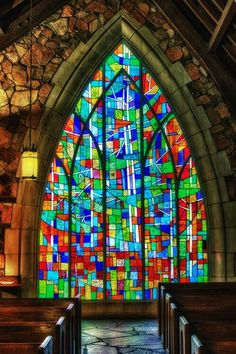 Love stained glass.