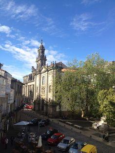 Praza da Universidade. Santiago de Compostela.