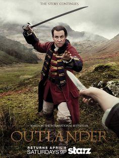 "Outlander avec Tobias Menzies (Frank Randall / Jonathan ""Black Jack"" Randall)- © Starz Entertainment"