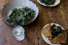 Raw Tuscan Kale Salad   29 Vegetarian No-Cook Meals You Can Make Without Your Stove