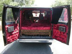 Custom Van Interiors | 1978 Ford Econoline E-150 Custom Van . Awesome Interior and Low Miles ...