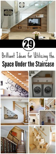 There are couple of dead spots in the interior when it comes to space, such as the corners, the space under the staircase, and the space under the windows. In most cases, people treat these
