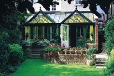 Yep! I'd settle for this conservatory.