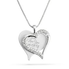 Funny 76th Birthday Gifts for Women 76 Year Old Birthday Gifts for Women Stainless Steel Womens Light Blue Zircon Heart Necklace 76th Birthday Gifts for Women