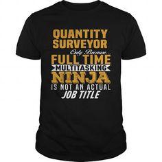 Awesome Tee Quantity Surveyor Shirt; Tee