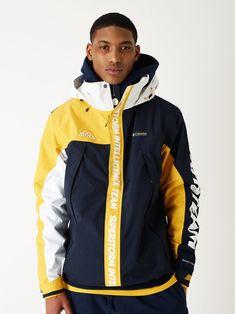 Dope Fashion, Sport Fashion, Swag Fashion, Fashion Pants, Cute Jackets, Windbreaker Jacket, Men Looks, Sportswear Brand, Cool Outfits