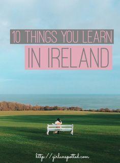 10 Very Irish Things You Learn In Ireland
