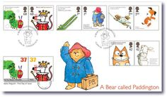 British Stamp - Animal Tales