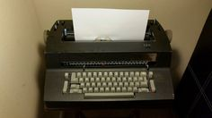 IBM SELECTRIC II BLACK ELECTRIC TYPEWRITER  #IBM