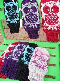 Koti kuusen alla: Muutama sananen kirjoneuleen tekemisestä Knitting Socks, Knitted Hats, Knit Socks, Knitting Projects, Fingerless Gloves, Arm Warmers, Mittens, Knit Crochet, Cross Stitch
