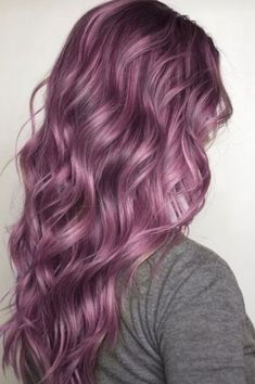 Purple pastel hair color. Are you looking for unique hair color ideas for winter and spring? See our collection full of unique hair color ideas for winter and spring and get inspired!