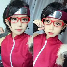 Naruto The Boruto Series Cosplay ☆ Sarada Uchiha Kawaii Cosplay, Cosplay Anime, Epic Cosplay, Amazing Cosplay, Cosplay Girls, Anime Naruto, Manga Anime, Naruto Girls, Anime Expo