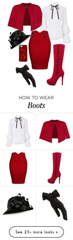 """Untitled #22"" by crafty-syko on Polyvore featuring WithChic, Caroline Constas and Black"