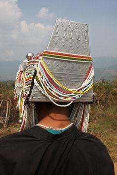 Akha tribal woman near the village of Wan Pin, Shan state, Myanmar / Burma | Flickr - Photo Sharing!
