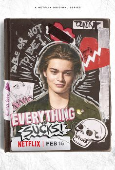 Poster Everything Sucks Oliver