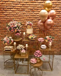 New Birthday Party Ideas Decoration 24 Ideas Balloon Decorations, Birthday Party Decorations, Wedding Decorations, 50th Birthday, Birthday Parties, Gold Party, Holidays And Events, Event Decor, Party Time