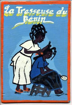 African Barbershop and Salon Art: One of the most enchanting parts of Ghana to me when I visited in 2008 were the hand painted signs. It was like living in a children's book, this fantastic illustration everywhere. If New York was painted this way, I imagine each day would be filled with a bit more joy.