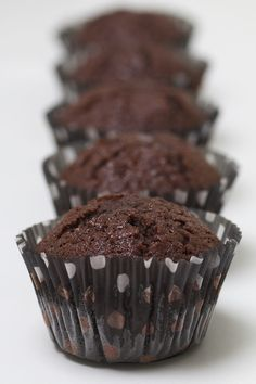 Allies saftiga chokladmuffins Baking Recipes, Cupcakes, Sweets, Breakfast, Food, Drinks, Cooking Recipes, Morning Coffee, Drinking