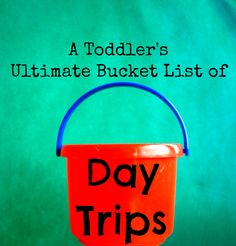More Fun, Mom!: Toddlers' Bucket List of Day Trips