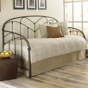 Pomona Iron Daybed by Fashion Bed Group | Wrought Iron Metal Twin Daybed Trundle