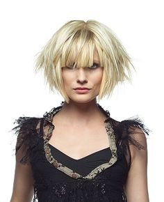 this cut can go sleek-&-conservative, or wild-&-edgy with just a little more product and fluff-!