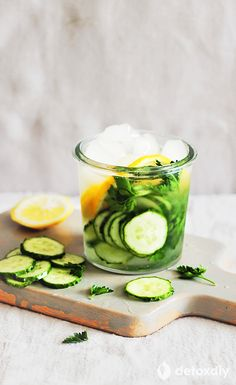 These cucumber water recipes nourish the body with vitamins and minerals from whole foods in the form of fruits and vegetables. Real nutrients help support your liver and digestive system.