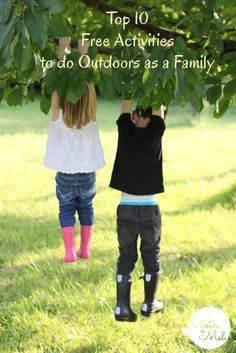 Top 10 Free Activities to do Outdoors as a Family