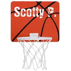 Basketball Player Name Mini Hoop for Kids Room - tap/click to get yours right now! #basketball, #toy, #篮球, #basketbal, #sports,