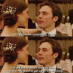 Me Before You - EVERYTHING ABOUT THE RELATIONSHIP BETWEEN CLARK AND WILL IS…
