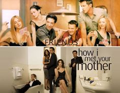 HIMYM or Friends, spot the difference!