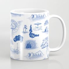Star Wars Blue Porcelain Mug - $15