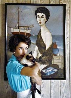 Elizabeth Taylor, c.1956