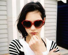 kiko mizuhara.  she's just so damn cheeky.