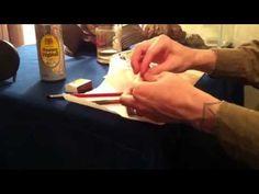 The art of kiseru smoking