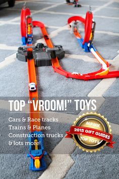 Top toys for kids who love planes, trains, cars, and construction vehicles - great detailed information and age recommendations on over 40 toys for vehicle-loving kids here! Baby Registry List, Baby List, Baby Toys, Kids Toys, Planes, Trains, Fitness Gifts, Top Toys, Mom Advice