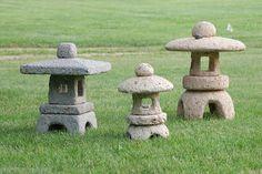 Black Cat Pottery Holiday Open House - Meet the Artists: Chris Hopp and Farmbrook Designs Japanese Garden Lanterns, Japanese Stone Lanterns, Japanese Garden Design, Cement Art, Concrete Art, Concrete Furniture, Concrete Crafts, Concrete Projects, Japan Garden