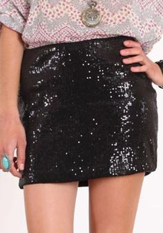 Sequin Styles Mini Skirt - $32.00 : ThreadSence.com, Your Spot For Indie Clothing  Indie Urban Culture