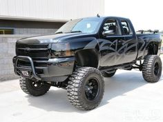#Chevy Truck. Sweet paint job!