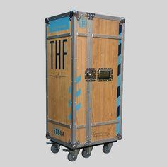 MultiCase Wood Tempelhof, Flightcase Retro, Holz, Siebdruck, Aluprofile und…