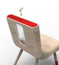 Piggy Bank Chair. Brings a whole new meaning to sitting on your money...