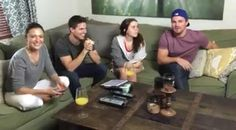 Happening now. With Robbie Amell, Italia Ricci and the wonderful Mae Whitman. - Stephen