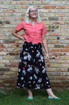 Marilyn Style: I Found a New Way to Shop  #ootd #instashop #fashionblog #vintage #croptop