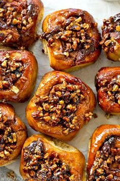 Best-Ever Overnight Pecan Sticky Buns @FoodBlogs