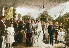 Die Hochzeit Erzherzog Carl Franz Josephs mit Zita, © IMAGNO/Öst. Volkshochschularchiv