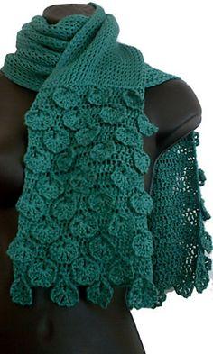 Fleurette Scarf pattern