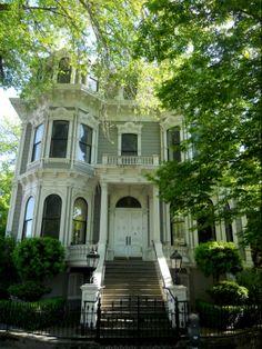 Historic Houses of California - Sacramento - Heilbron House - 1881
