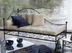 sillon cama de hierro                                                                                                                                                                                 Más