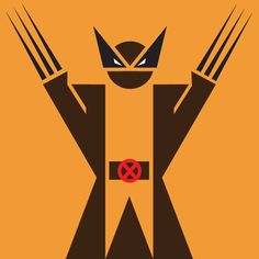 Wolverine pictogram. Probably my favorite from the series