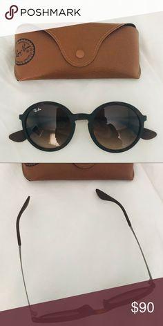 Ray Ban Round Sunglasses, Sunglasses Case, Round Ray Bans, Hairline, Eye Glasses, Sunglasses Accessories, Turtle, Im Not Perfect, Stylish
